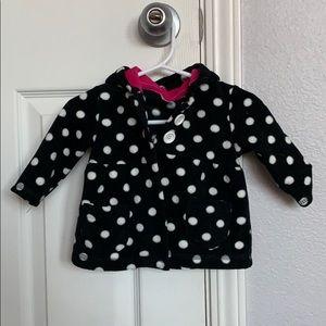 Carters Polka Dot Fleece Size 3M